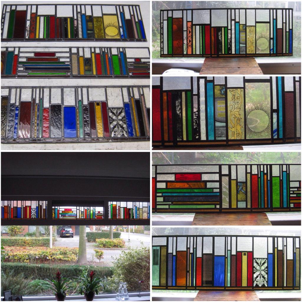 bovenlichten boekenplank