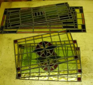 restauratie glas in lood glaslicht